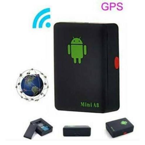 alat sadap penyadap suara tracker mini lacak GPS tipe A8 alat pengintai mata mata rahasia kecil | Shopee Indonesia