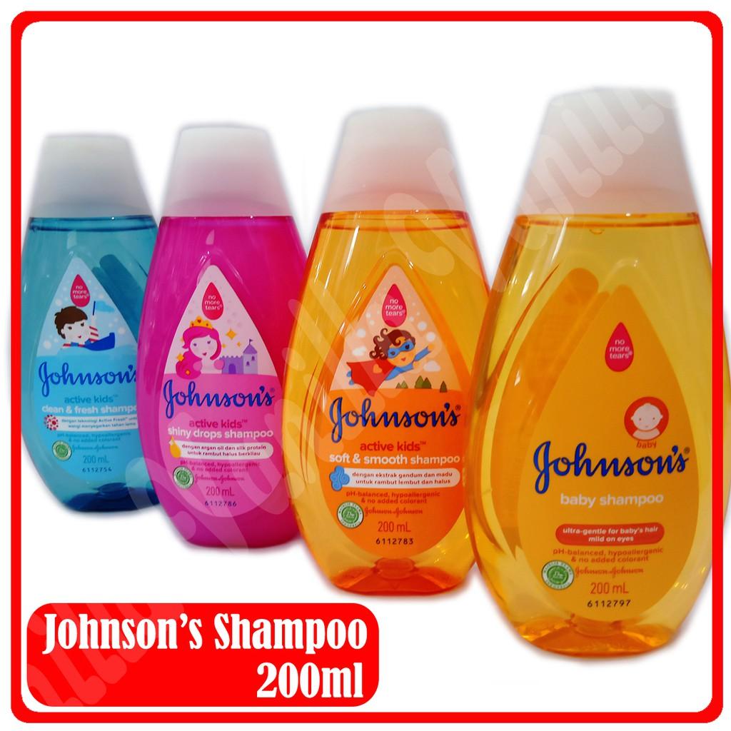 JOHNSON'S Baby Shampoo 200ml Shampo Bayi dan Anak