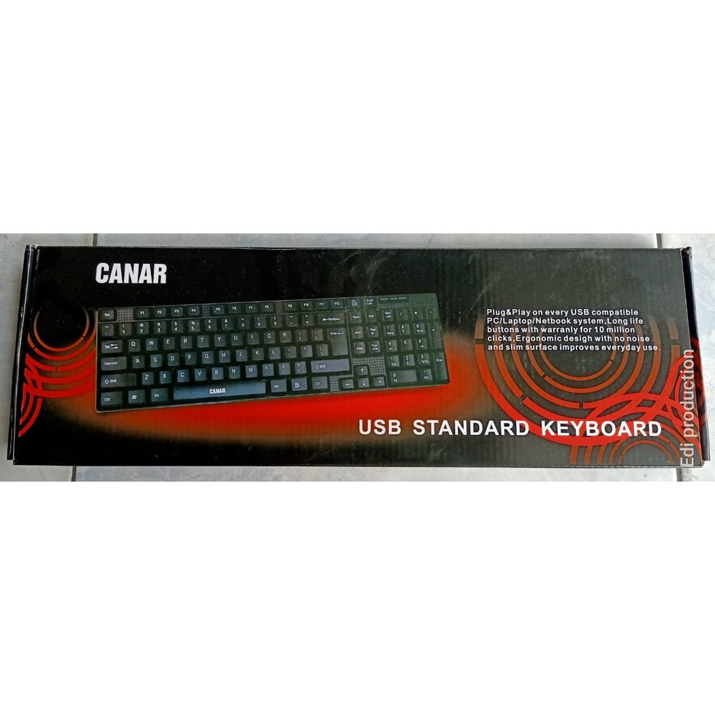 Keyboard Usb Canar Shopee Indonesia