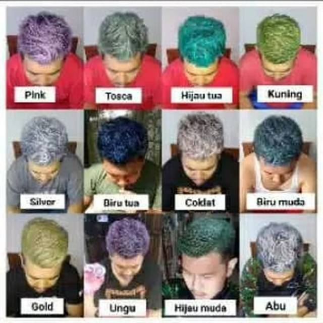 Bisa Cod Pomade Warna Pewarna Rambut Hair Color Shopee Indonesia