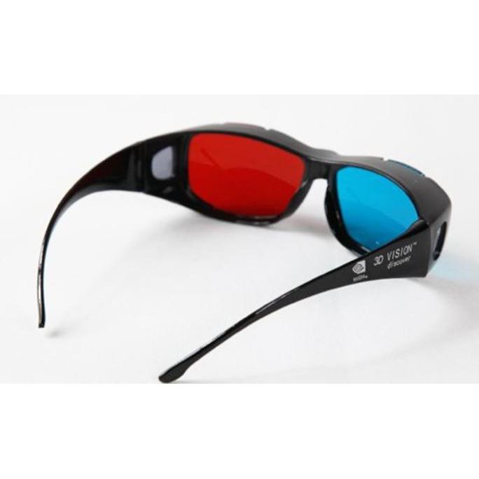 Promo D Glasses Kacamata Kaca Mata Frame plastik nVidia Vision Red Cyan  Diskon  f1ad531331