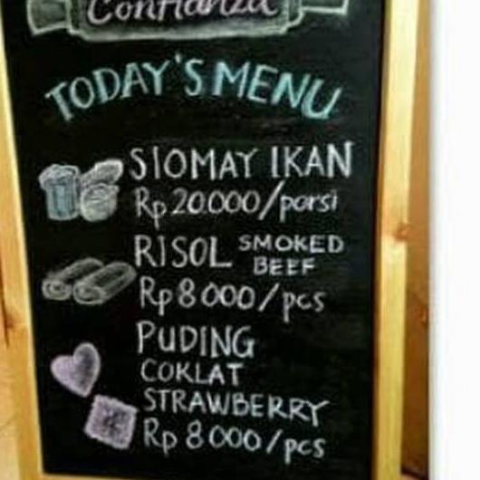Terlaku C Papan Tulis Kapur 40x60cm Papan Tulis Black Board Chalkboard Blackboard Kapur Tulis Qq Shopee Indonesia