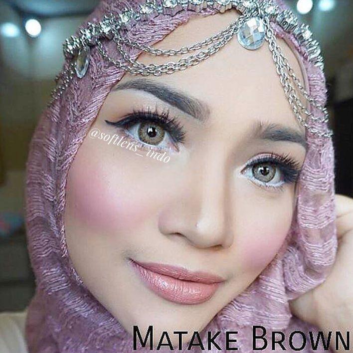 Softlens New Clover / Soft Lens Clover New KEMENKES - Brown   Shopee Indonesia