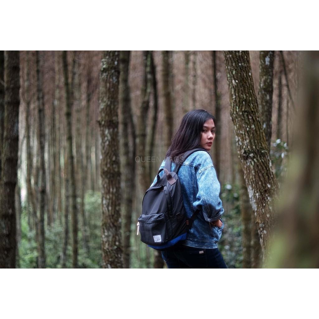 Promo Midi Black Backpack Rucksack Man Women Ransel Unik Pria The Troopers Matte Bagus Ravre Wanita Keren Shopee Indonesia