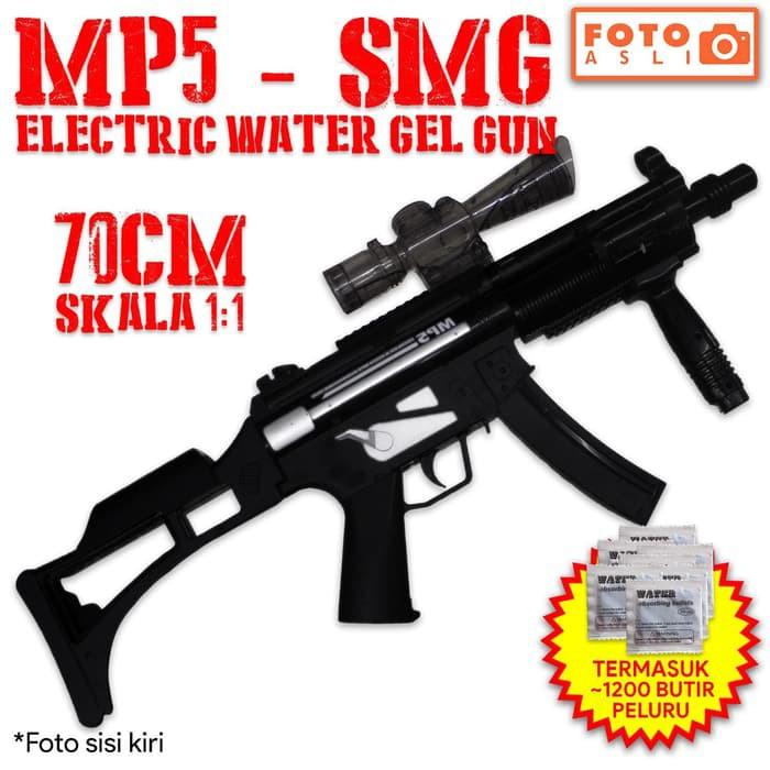 Mainan Anak Electric Water Gel Gun Mp5 Murah Shopee Indonesia