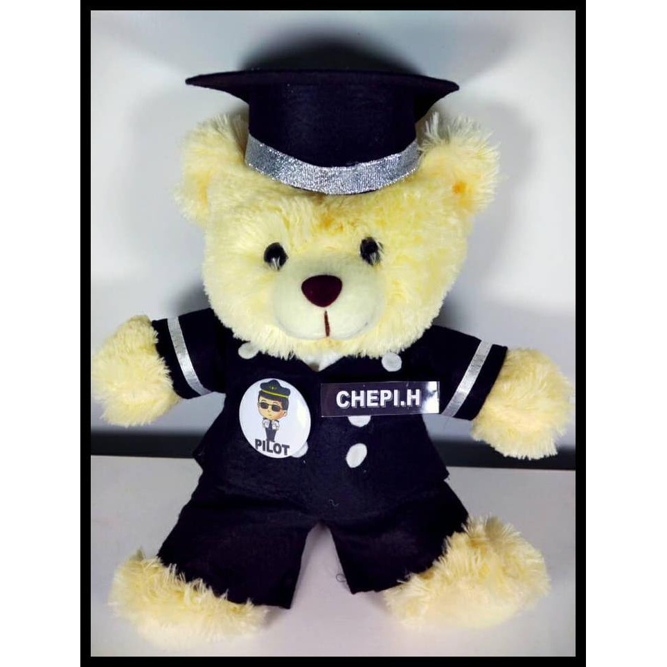 Boneka Pilot   Boneka Teddy Bear Profesi Pilot  09153c77e8
