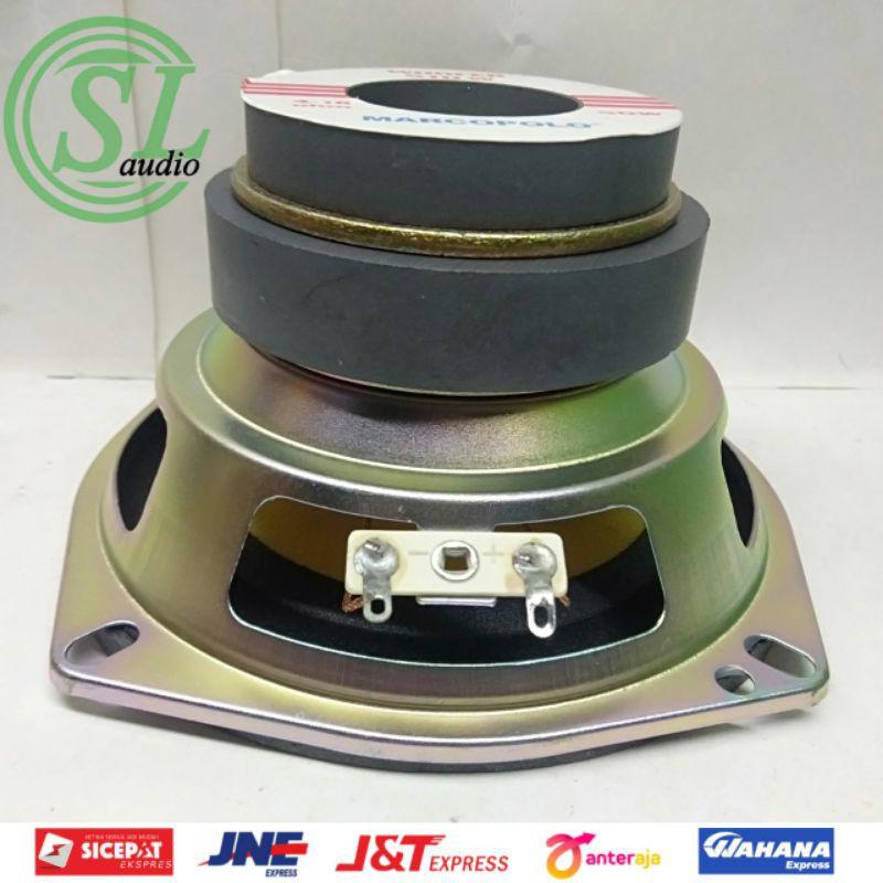 Speaker Marcopolo 4,5 Inch Woofer 510W Double Magnet