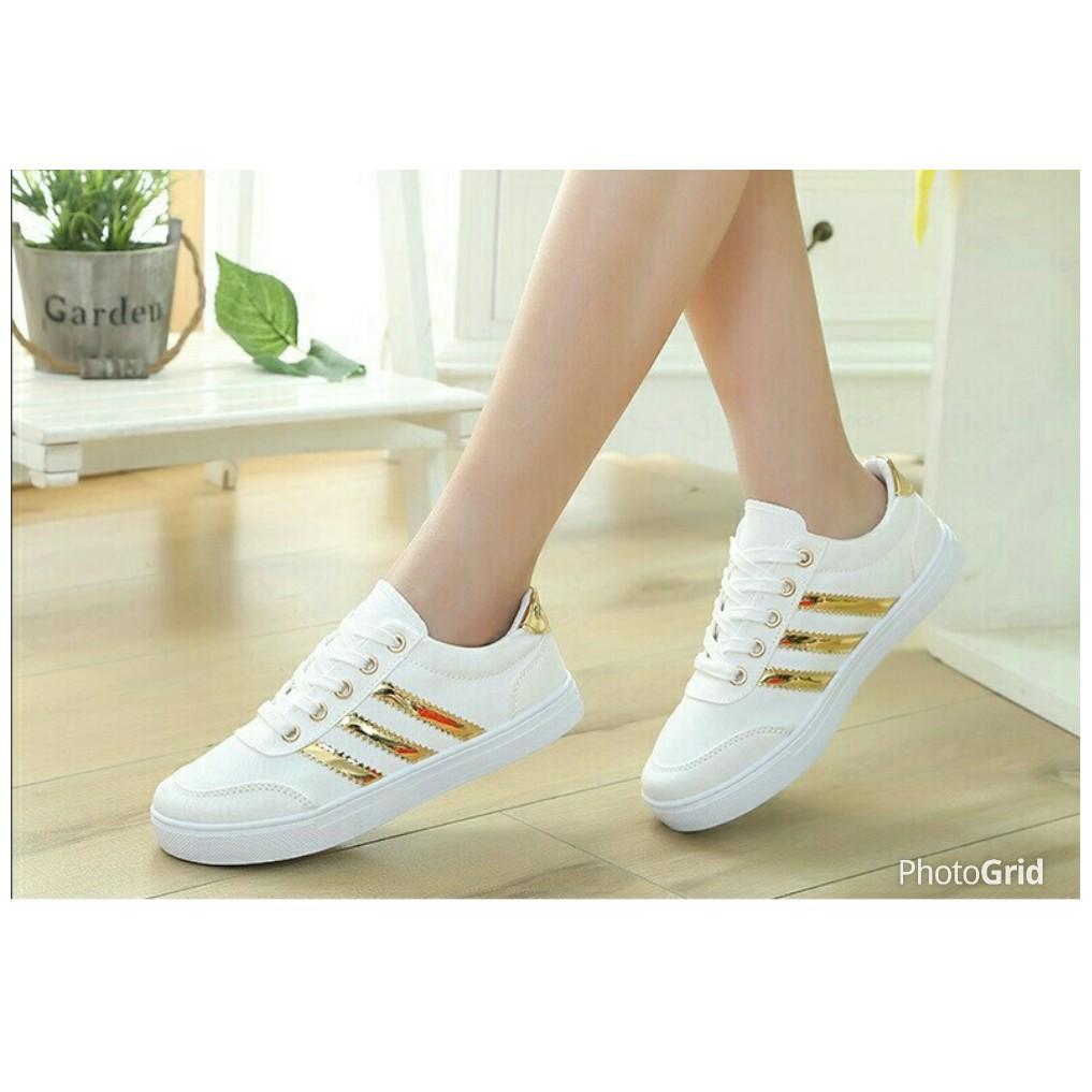Sepatu Adidas Putih Emas Shopee Indonesia