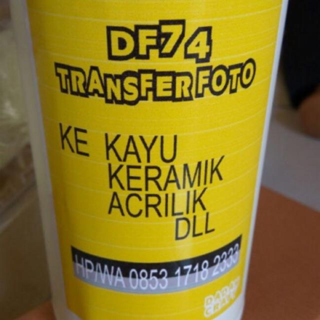 Transfer Foto Df74 Original 500ml Shopee Indonesia