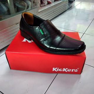 Sepatu kulit pria pantofel formal fantofel kerja pantopel dinas grosir murah size besar 43=44