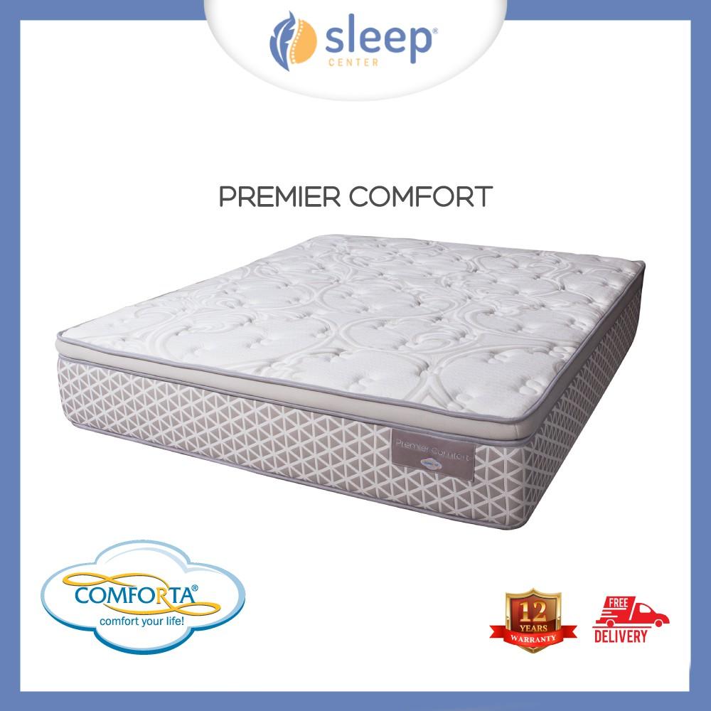 Sleep Center Comforta Superfit Matras Super Platinum White Blue Kasur Pedic 100x200tanpa Divan Sandaran Jadebotabek Only Brown Shopee Indonesia