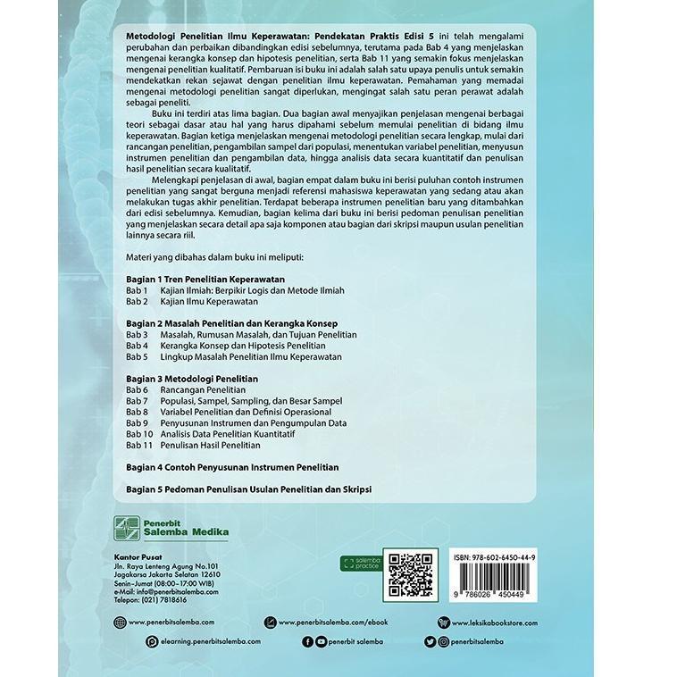 Kode 02 Metodologi Penelitian Ilmu Keperawatan Pendekatan Praktis