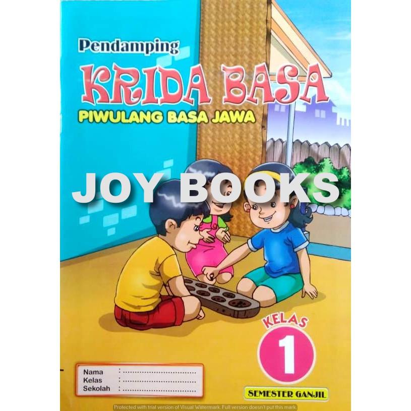 Buku Lks Pendamping Krida Basa Piwulang Basa Jawa Sd Kelas 1 2 3 4 5 6 Shopee Indonesia