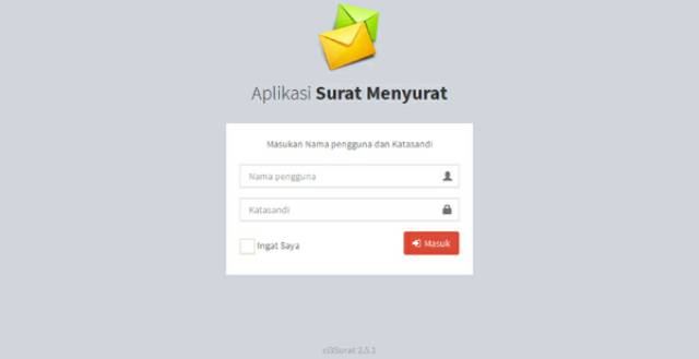 Software Program Aplikasi Surat Menyurat