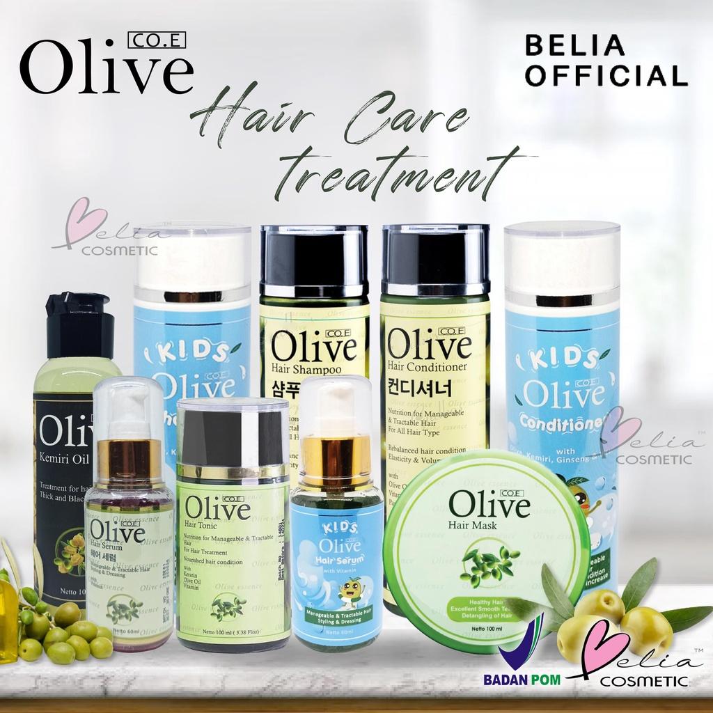 ❤ BELIA ❤ CO.E Olive Hair Treatment | Shampoo | Conditioner | Tonic | Shampo SYB (✔BPOM)