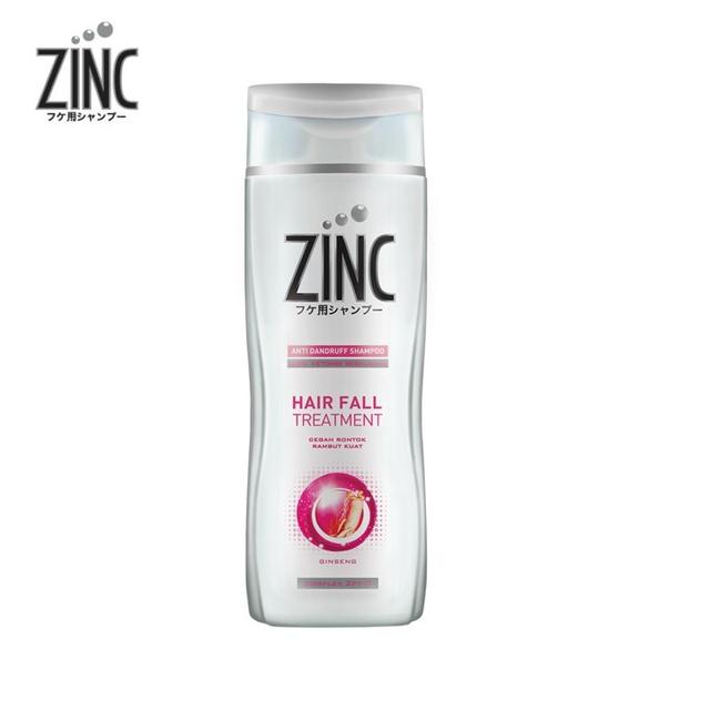 ZINC Shampoo Hair Fall Treatment Botol 340ML-3