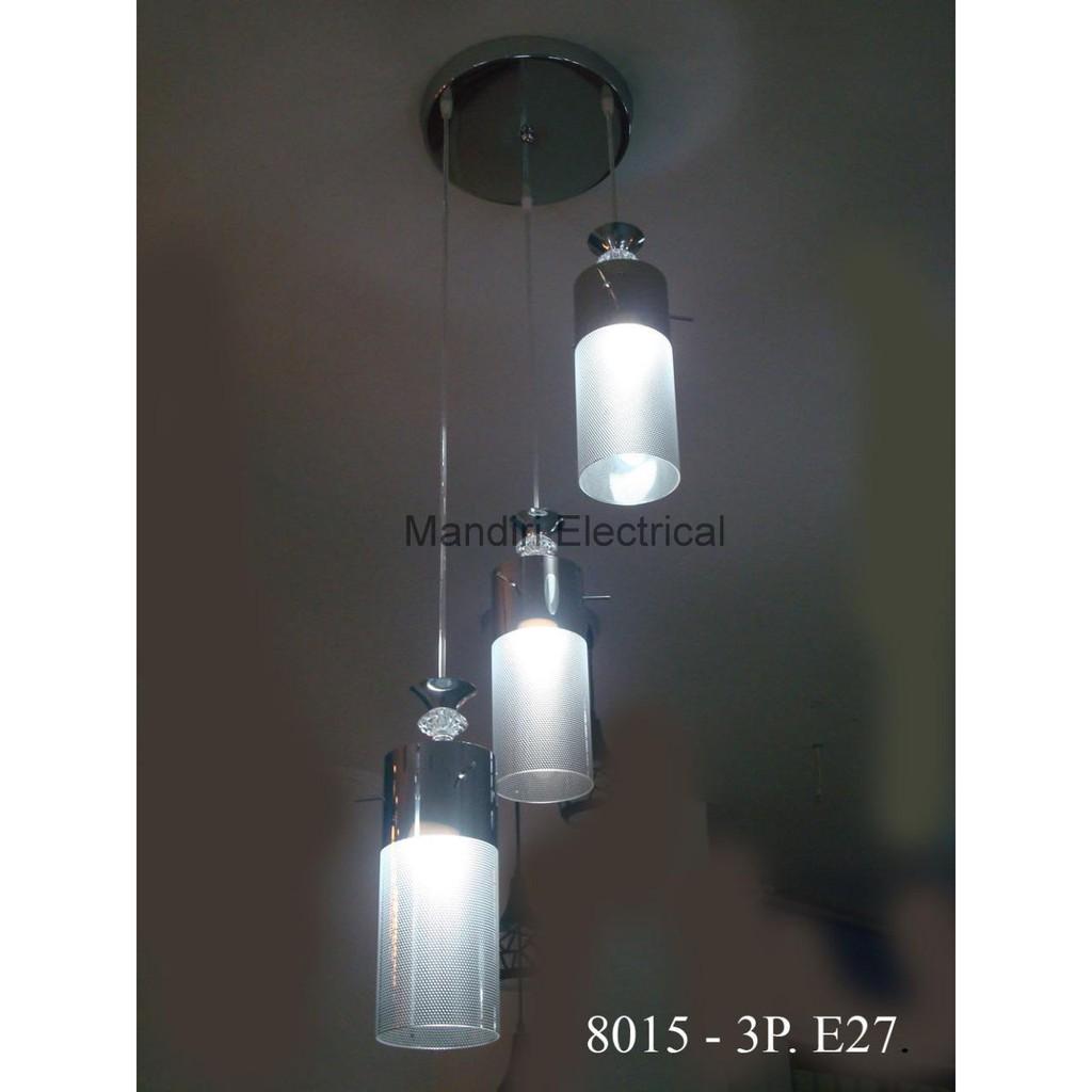 Lampu Hias Gantung Dekorasi Ruang Tamu Meja Makan Minimalis 8015 3p