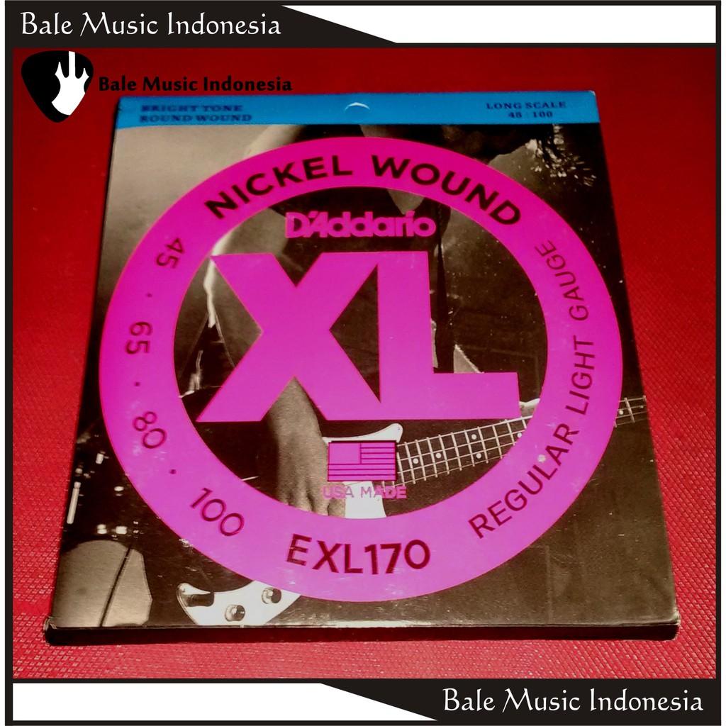 Up To 16 Discount Bale Music Indonesia Senar Gitar Plain Lusinan Satuan Bass Daddario Nickel Wound Exl