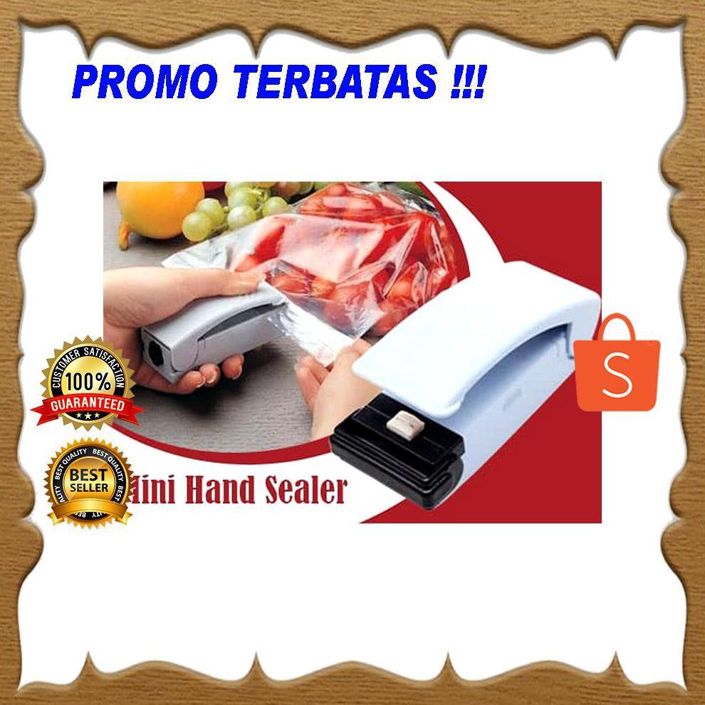 Kiozorenz Super Handy Sealer Pengemas Makanan Mini Hand Perekat Plastik Seal 100gr Shopee Indonesia
