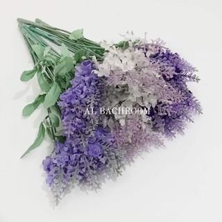 bk10 lavender bunga hias dekorasi rumah artificial