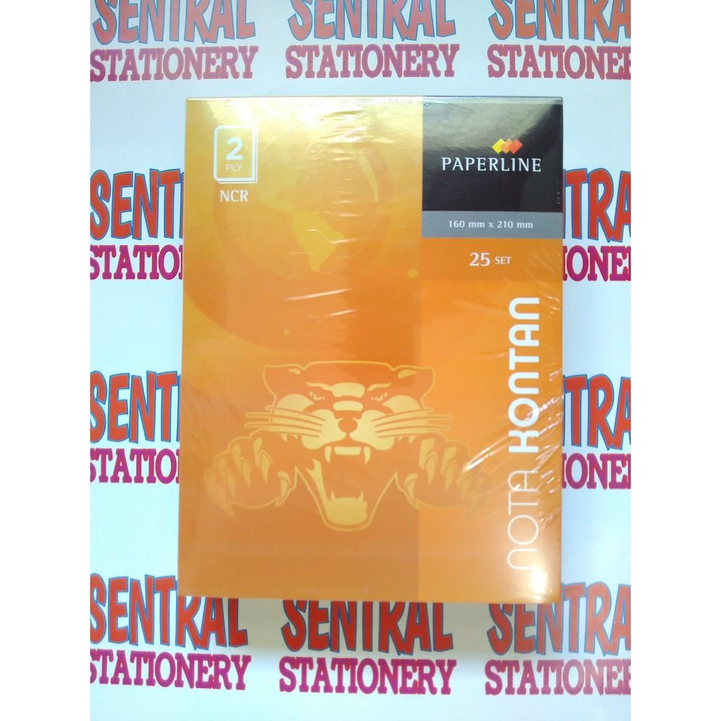 Paperline Nota Kontan Besar Ncr Rangkap 2 Ply Ppl Nk B2 Shopee K2 2ply Indonesia