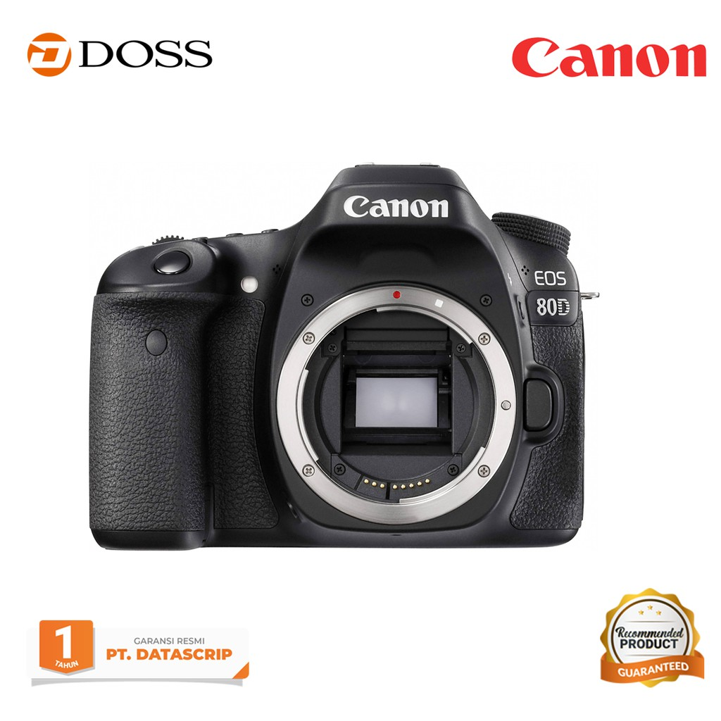 Canon EOS 80D Body Only Black / Canon 80D Body