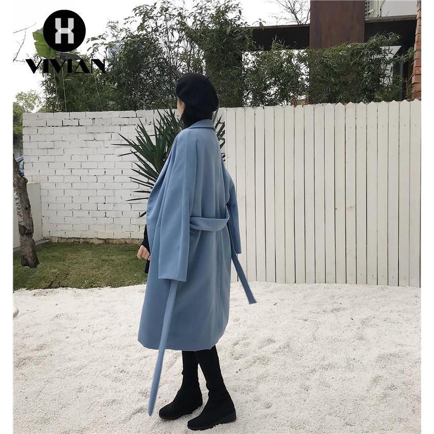 Mantel Panjang Wanita Model Kerah Lapel Tanpa Lengan dengan Hiasan Bordir dan Renda Bergaya Korea |