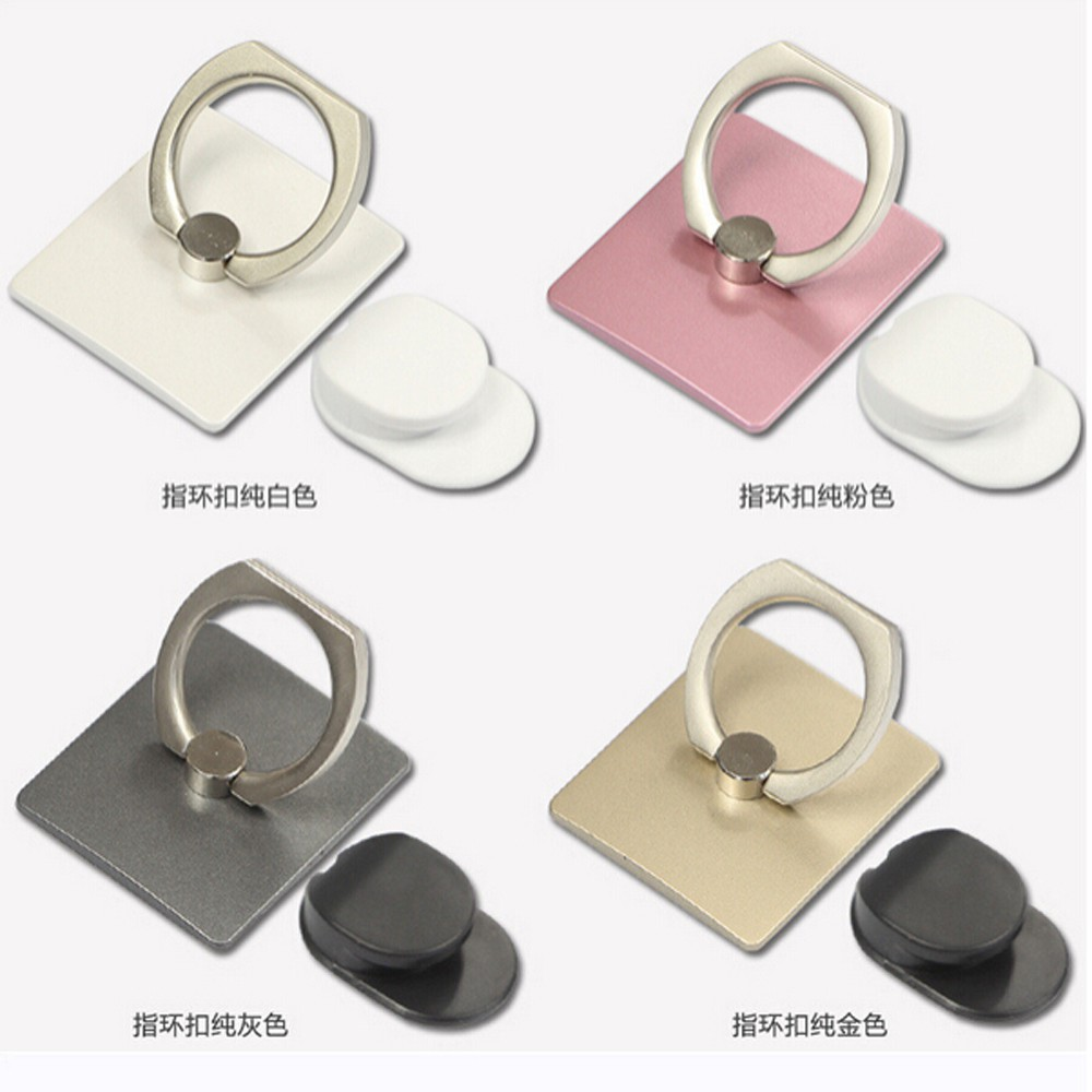 Ring Stand Hook Iring Cincin Holder Handphone Hp Standing Ringstand Besi Polos Stai