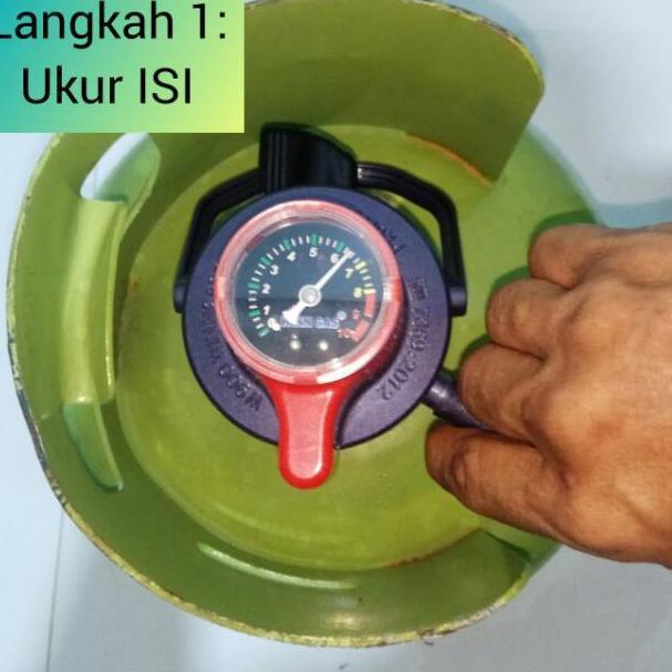 [ART. 61871] Tabung gas LPG elpiji 3 Kg Melon bonus 2 bh karet seal.