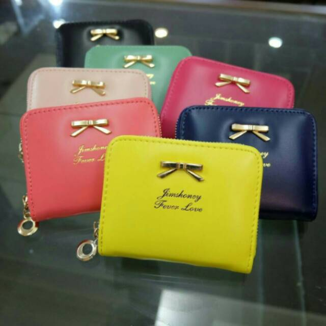 MINI RIBBON WALLET Dompet wanita import murah Jims Honey | Shopee Indonesia