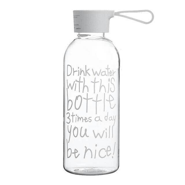 Promise Me Bottle Infused Water Tulisan Miring 750ml - Hitam | Lazada Indonesia. Source ·