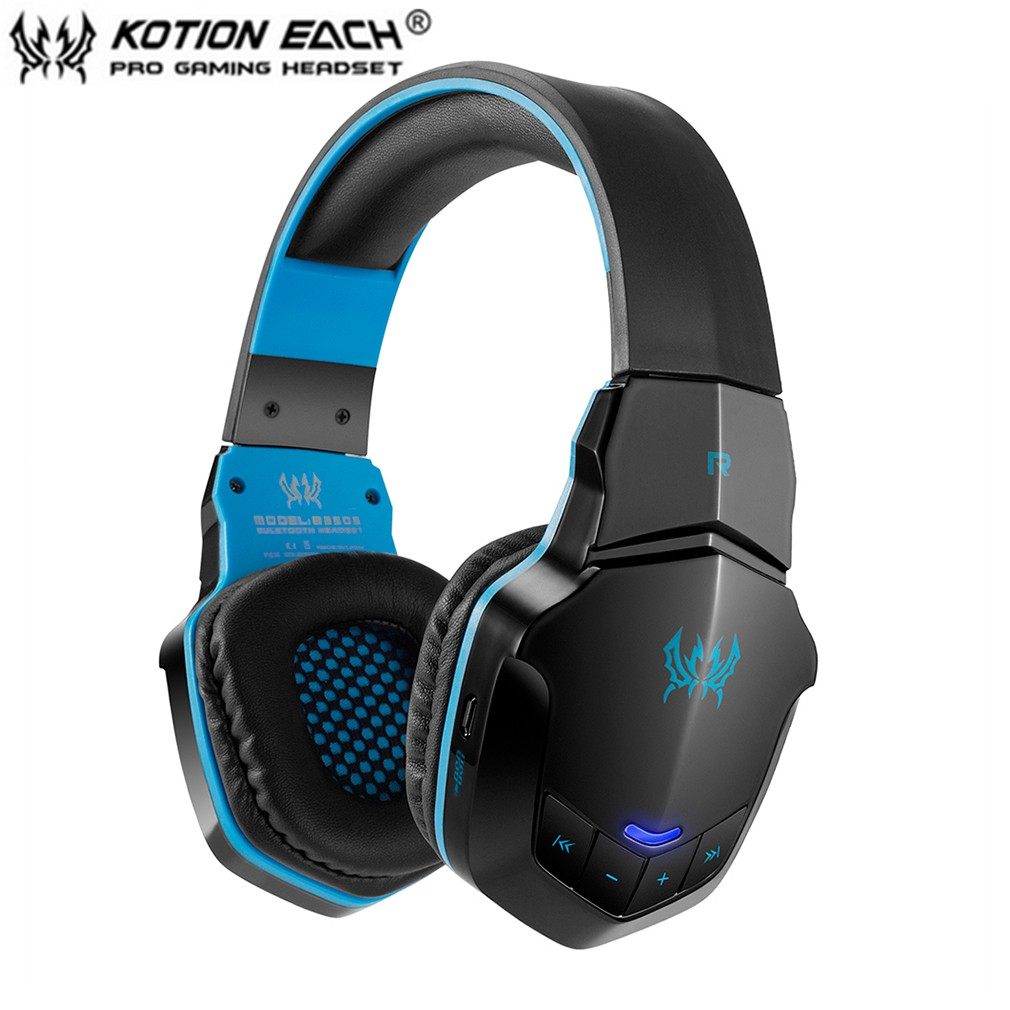 Free Ongkir Kotion Each B3505 Headset Headphone Gaming Wireless Bluetooth 4 1 Stereo Mendukung Nfc Shopee Indonesia