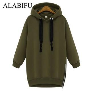 2e036407f Jaket Hoodie Wanita Sweater Panjang Musim Gugur Musim Dingin Gaun 2018  Wanita BF Hoodies Kaus