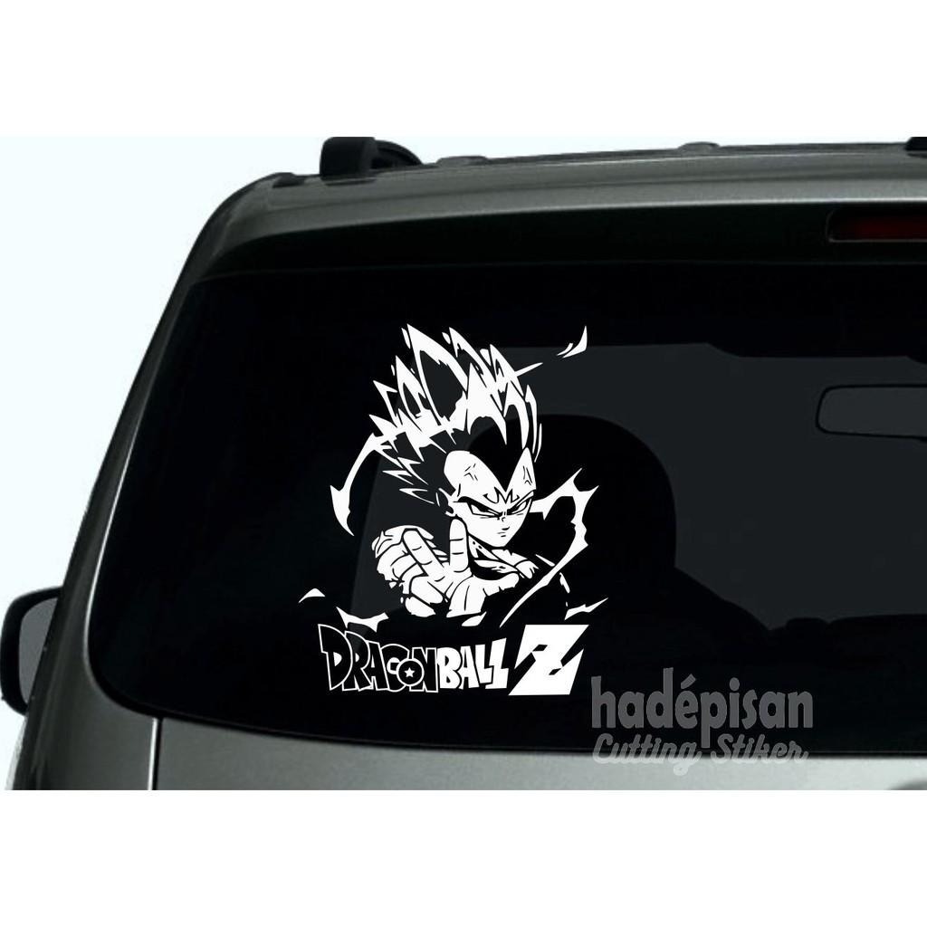 Stiker mobil cutting sticker kaca belakang mobil dragon ball shopee indonesia