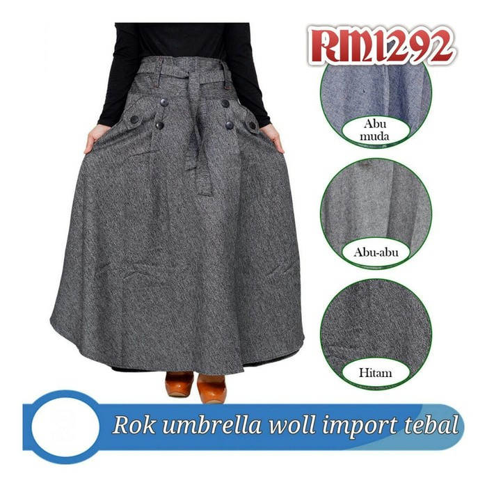 Rok Mini Span Wanita Pocket Import Coklat; Page - 3. Celana . Source ·