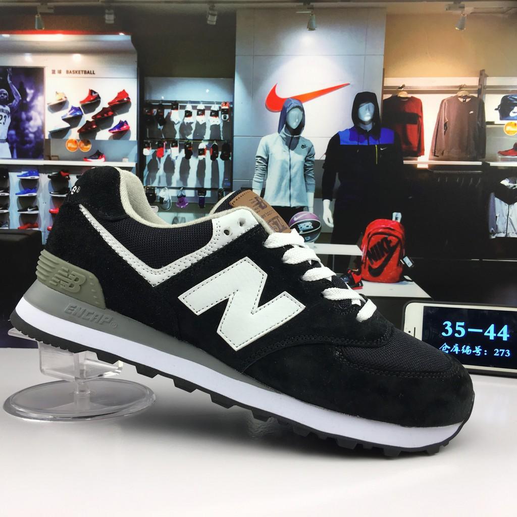 sepatu sport new balance hitam