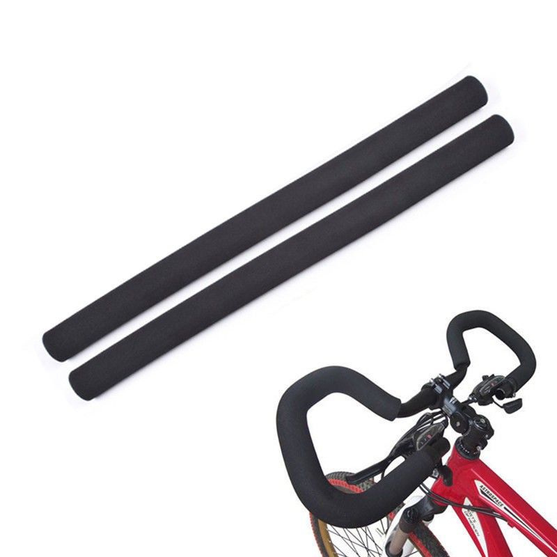 1 Pair Soft Foam Sponge MTB Bike Bicycle Handle Handlebar Bar Grips Anti-slip