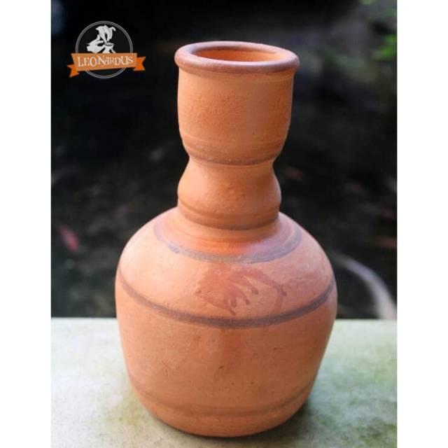 Kendi Air Vas Bunga Pot Bunga 23cm Jumbo Gerabah Unik Tanah Liat Bakar Shopee Indonesia