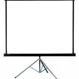 Tripod Screen Projector Layar 70 Inch 178 X 178 Cm Led Proyektor Elektronik Shopee Indonesia