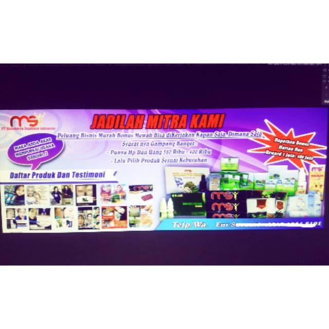 X Banner Spanduk Murah Shopee Indonesia