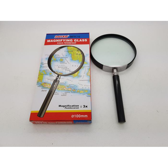 Kaca Pembesar 100Mm Joyko Loupe, Magnifying Glass, Magnifier | Shopee Indonesia