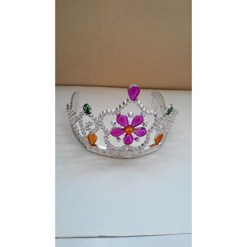 Bando Flower Crown Bunga Mahkota Cantik Ala Princess Hair Aksesoris Pink Handmade Impor Murah Promo Shopee Indonesia