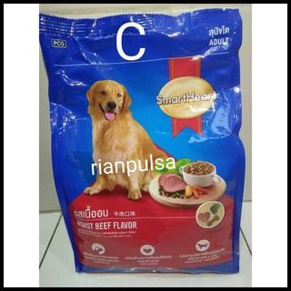 Promo Smartheart Makanan Anjing Ras Dog Food Small Breed Beef