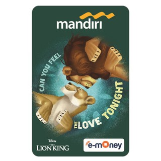 Mandiri E-money The Lion King - Simba & Nala