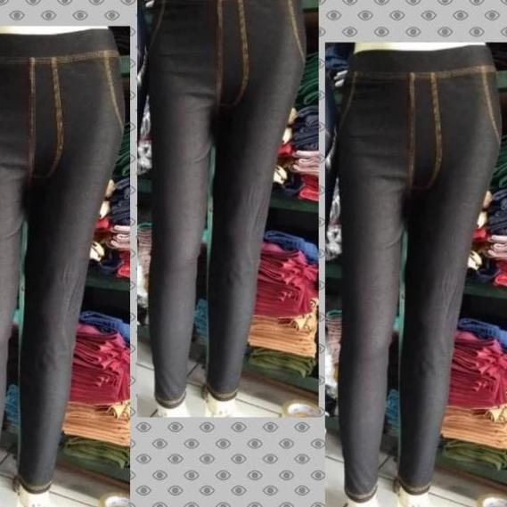 Celana Legging Levis Panjang Wanita Bahan Denim Tebal Dan Adem Nyaman Dipakai Shopee Indonesia