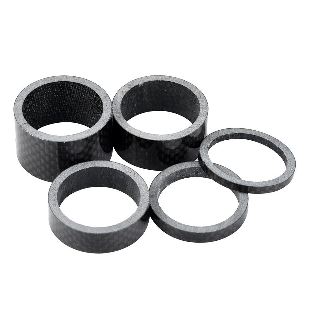 """Details about  /5Pcs full Carbon Fiber Headset Bike Headset Spacers Spacer 1-1//8/"""" 3//5//10//15//20mm"""