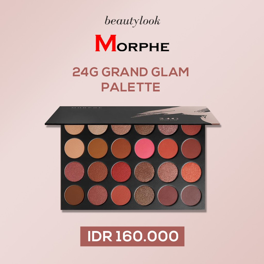 Lt Pro Natural Glam Eyeshadow Palette Shopee Indonesia Naturally Eye Shadow