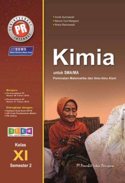 Buku Pr Lks Kelas Xi 11 Semester 2 K13 Revisi Matematika Kimia