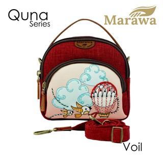 Tas Selempang Marawa Quna Etnik Original Bahan Kanvas Lucu ...