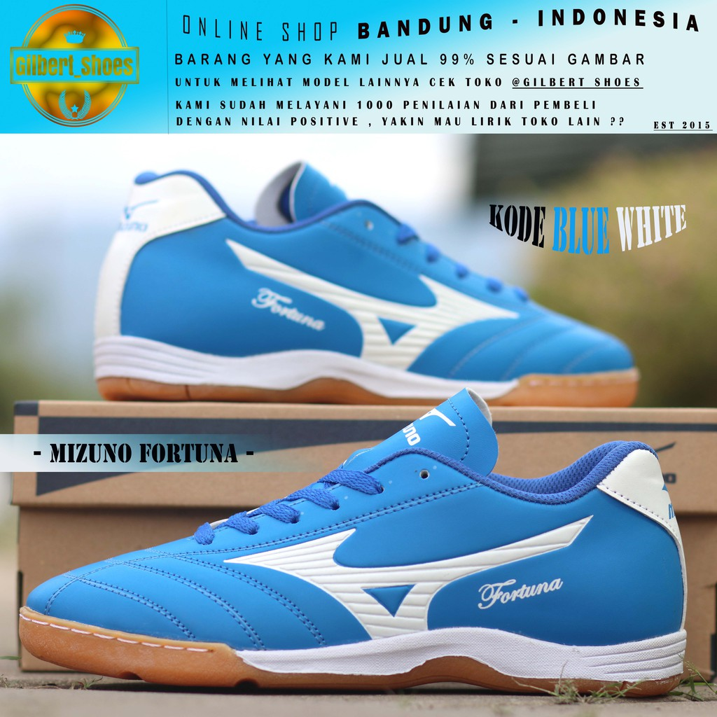 Sepatu Futsal Mizuno Monarcida 2 FS IN (WIDE) - Dark Shadow Original  P1GF172337  e84e84bcea